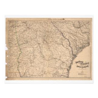 Southern Georgia and part of South Carolina (1865) Letterhead