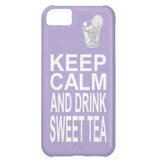 Southern Girl Sweet Tea Keep Calm Parody iPhone 5C Cover