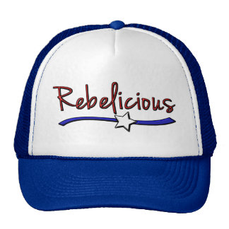 Southern  Girls are  Rebelicious Trucker Hat