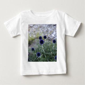 Southern globe thistle (Cardo pallotta) Baby T-Shirt