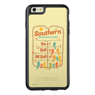 Southern Grammar Chart OtterBox iPhone 6/6s Plus Case