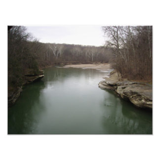 Southern Indiana River Photographic Print