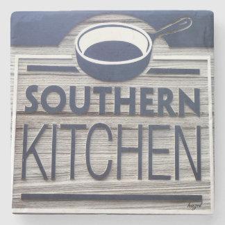 Southern Kitchen, Kiawah Island, SC Marble Stone C Stone Coaster