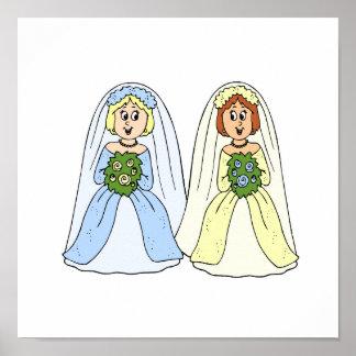 Southern Lesbian Wedding Print