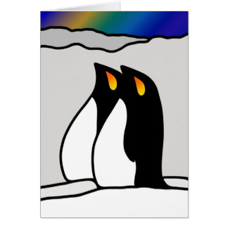 Southern Lights Card