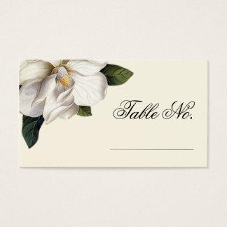 Southern Magnolia Botanical Wedding Escort Cards