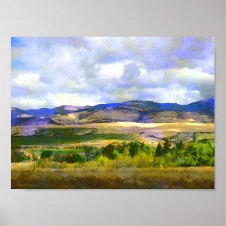 Southern Oregon Landscape Poster