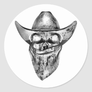 Southern Outlaw Classic Round Sticker