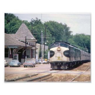 Southern Railway Depot on Greensboro Avenue Photo Print