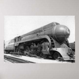 Southern Railway No. 1380 at Ivy City Poster