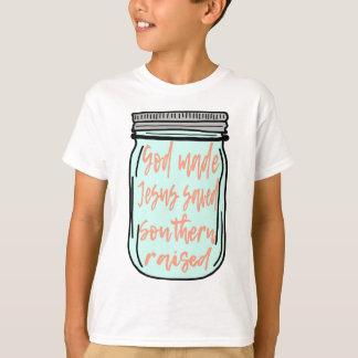 Southern Raised Mason Jar T-Shirt