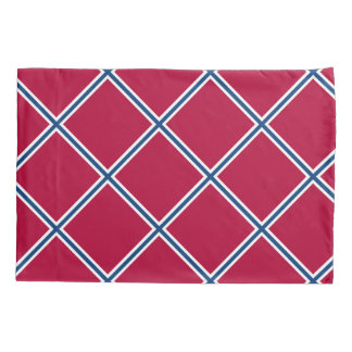 Southern Red and Blue Pillowcase