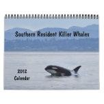 Southern Resident Killer Whales ~ 2012 Calendar