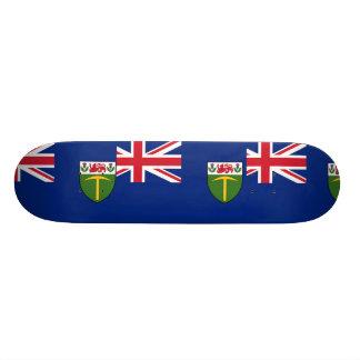 Southern Rhodesia, United Kingdom flag Skateboard