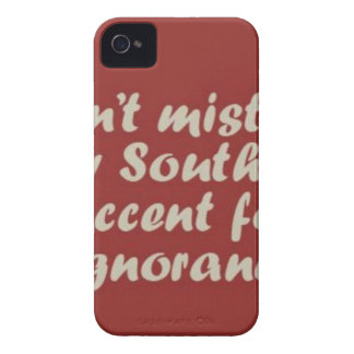 Southern Sayings iPhone 4 Case