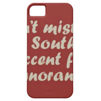 Southern Sayings iPhone 5 Case