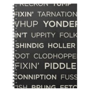 Southern Sayings Notebooks