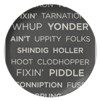 Southern Sayings Plate