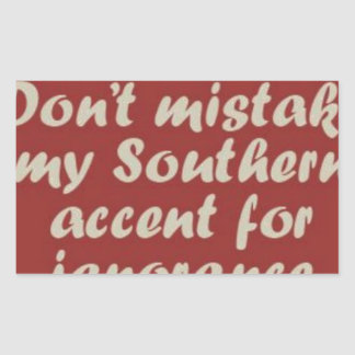 Southern Sayings Sticker