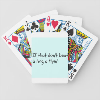 Southern Sayin's Bicycle Playing Cards