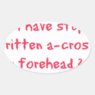 Southern Sayin's Oval Sticker
