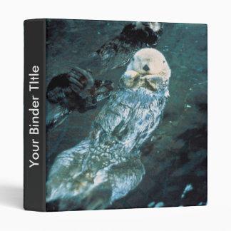 Southern Sea Otters Vinyl Binders