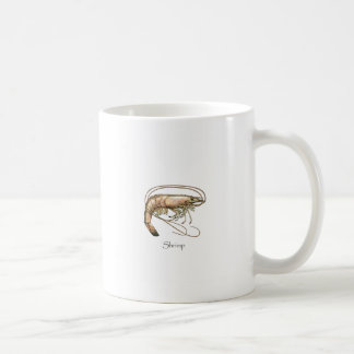 Southern Shrimp Art Logo Coffee Mug