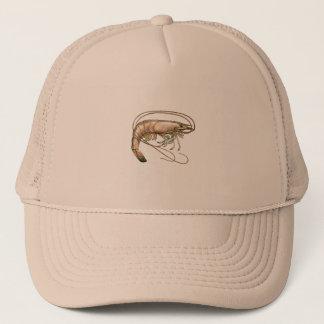 Southern Shrimp Art Trucker Hat