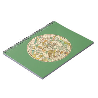 Southern Sky Star Chart and Constellations Map Notebooks