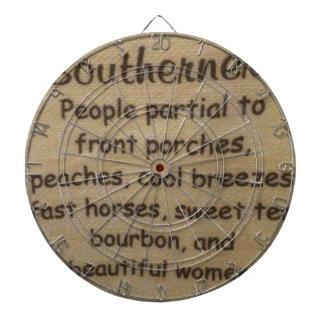 Southern slang dartboard