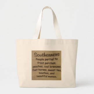 Southern slang large tote bag