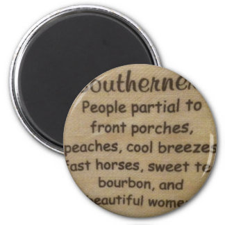 Southern slang magnet