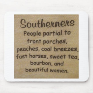 Southern slang mouse pad