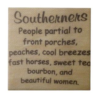 Southern slang tile