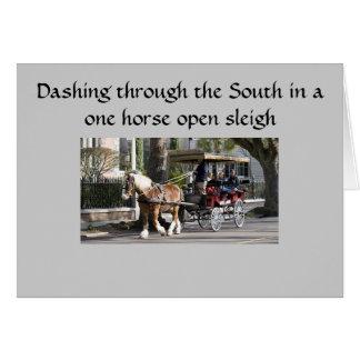 SOUTHERN SLEIGH RIDE CHRISTMAS CARD