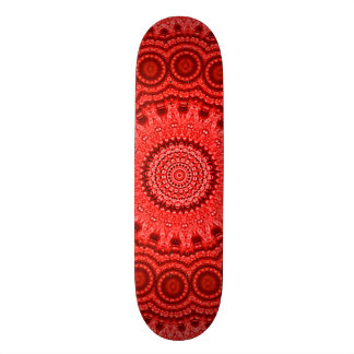 Southern Soho Red Mandala Custom Pro Park Board Skate Boards