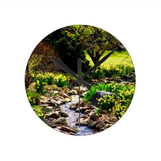southern spring floral botanical gardens round clock