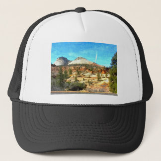 Southern Utah Vista with Red Soil Trucker Hat
