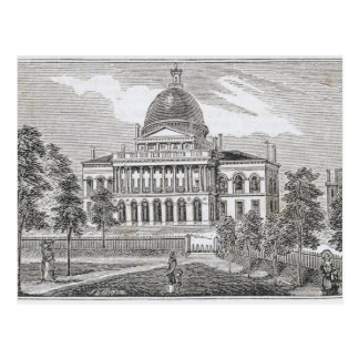 Southern view of the State House in Boston Postcard