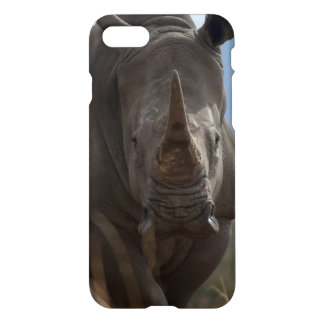 Southern White Rhino Portrait iPhone 7 Case
