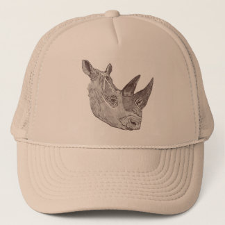 Southern White Rhinoceros Hat