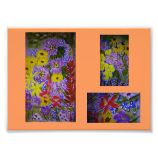 Southern wildflower print from AnnZitoArt painting Photograph