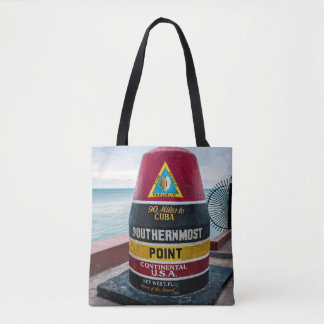Southernmost Point All Over Print Tote Bag