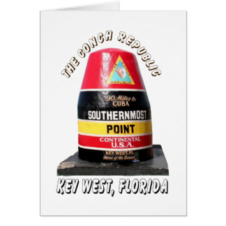 Southernmost Point Card