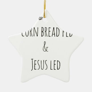 southernsayings ceramic ornament