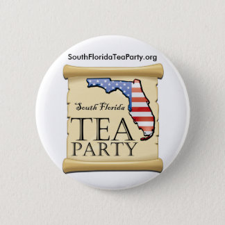 SouthFloridaTeaParty.org 2 Inch Round Button