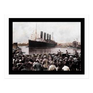 Southhampton partant titanique cartes postales