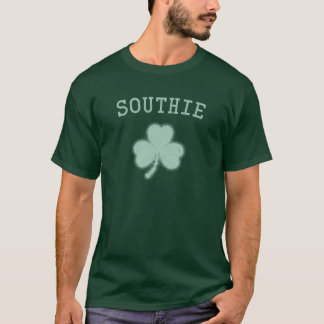 Southie, MA Irish Shamrock T-Shirt