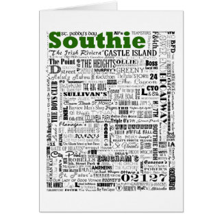 SOUTHIE memories Card