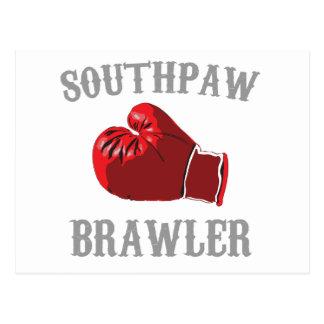 southpaw brawler postcard